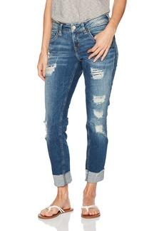 Silver Jeans Co. Women's Sam Mid Rise Boyfriend Jeans   x