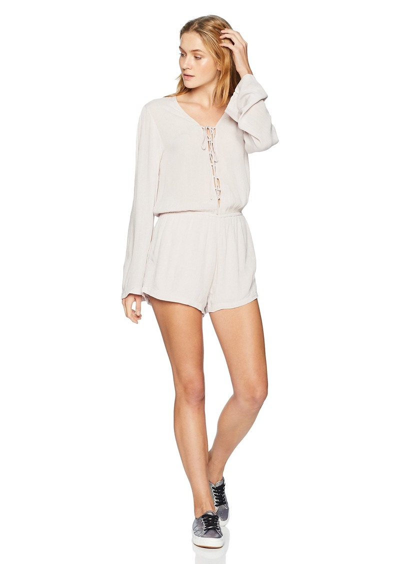 Silver Jeans Co. Women's Selah-Criss Cross Romper