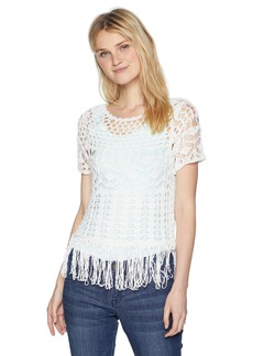 Silver Jeans Co. Women's Sharon-Tassel Top