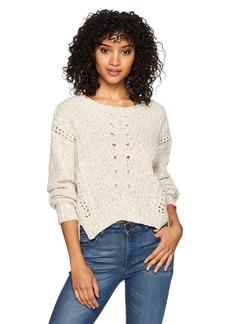 Silver Jeans Co. Women's Shawni Boxy Crop Sweater  XS
