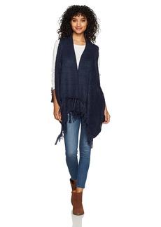 Silver Jeans Co. Women's Skyla Tassel Sweater Vest  L