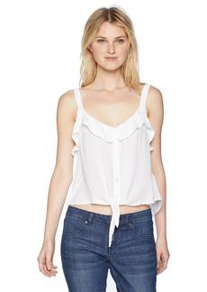 Silver Jeans Co. Women's Stephanie-Ruffle Top