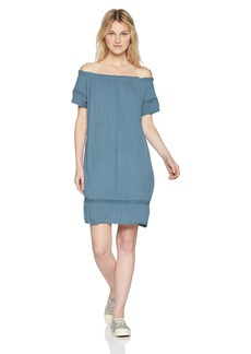 Silver Jeans Co. Women's Sutton-Off Shoulder Dress
