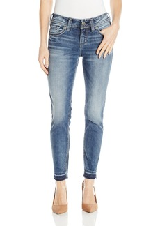 Silver Jeans Women's Co Elyse Relaxed Fit Ankle Skinny  x27