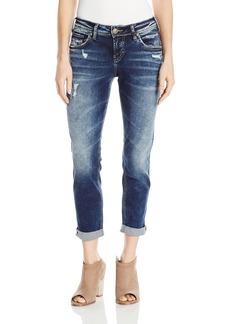 Silver Jeans Co. Women's Sam Mid Rise Boyfriend Jeans   x 25