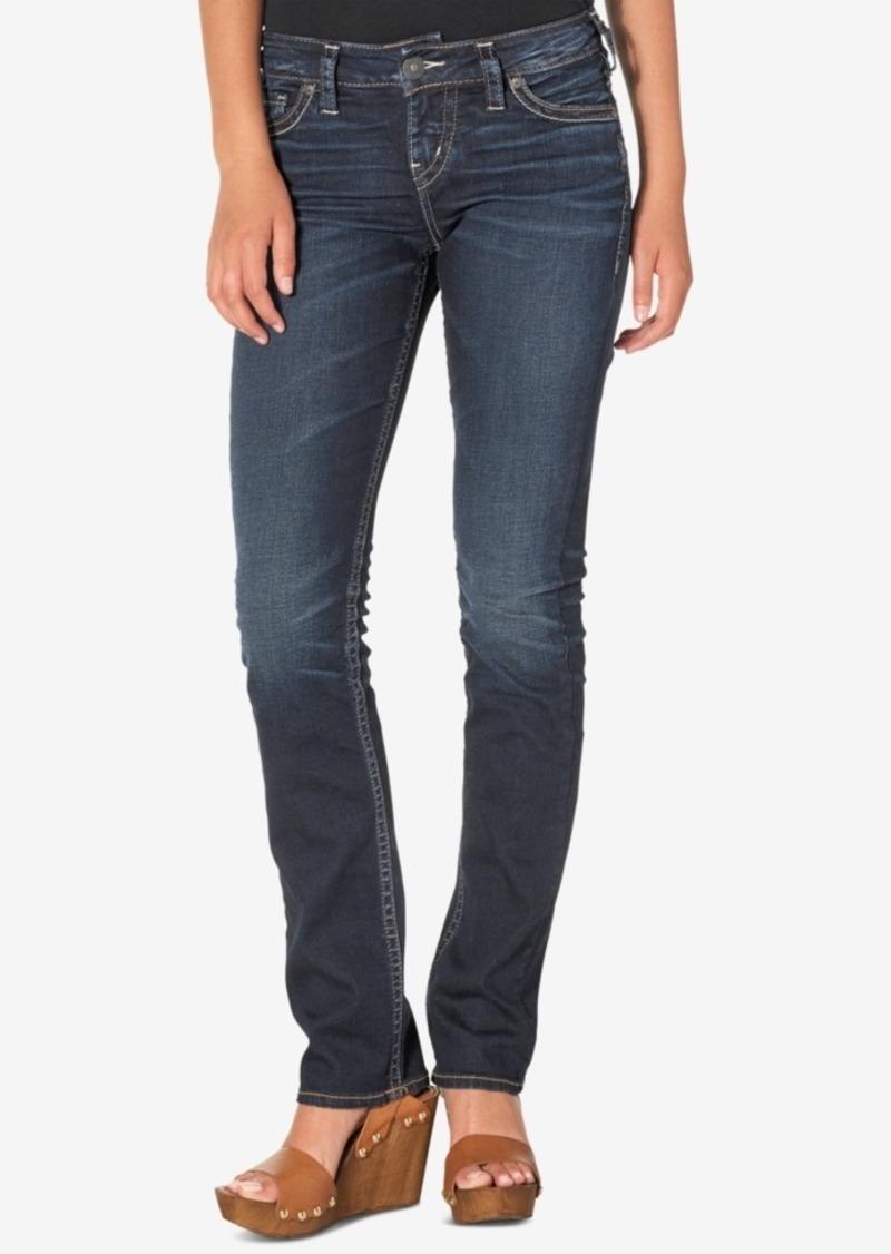 Silver Jeans Silver Jeans Suki Straight-Leg Jeans | Denim - Shop ...
