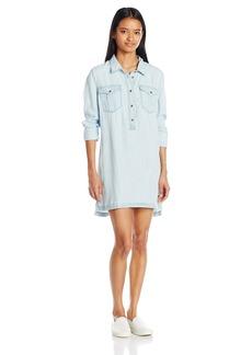 Silver Jeans Women's Denim Sleeveless Dress  M