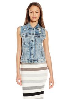 Silver Jeans Women's Denim Vintage Vest