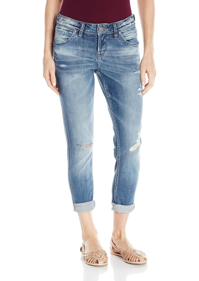 Silver Jeans Women's Destructed Boyfriend