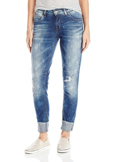 Silver Jeans Women's Girlfriend Jean Indigo
