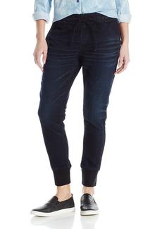 Silver Jeans Women's Joga Skinny Denim Sweat Pant