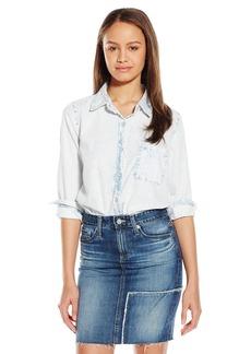 Silver Jeans Women's Long Sleeve Denim Shirt