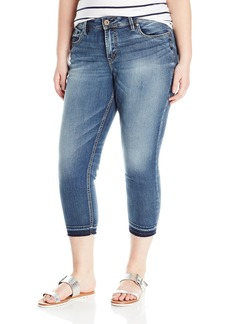 Silver Jeans Co. Women's Plus Size Avery Curvy Fit High Rise Skinny Crop