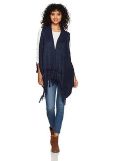 Silver Jeans Co. Women's Skyla Tassel Sweater Vest  XL