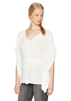 Silver Jeans Women's Solana Cinched Caftan Top  M
