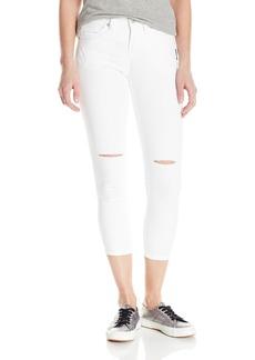 Silver Jeans Women's Suki High Rise Super Stretch Capri Jean