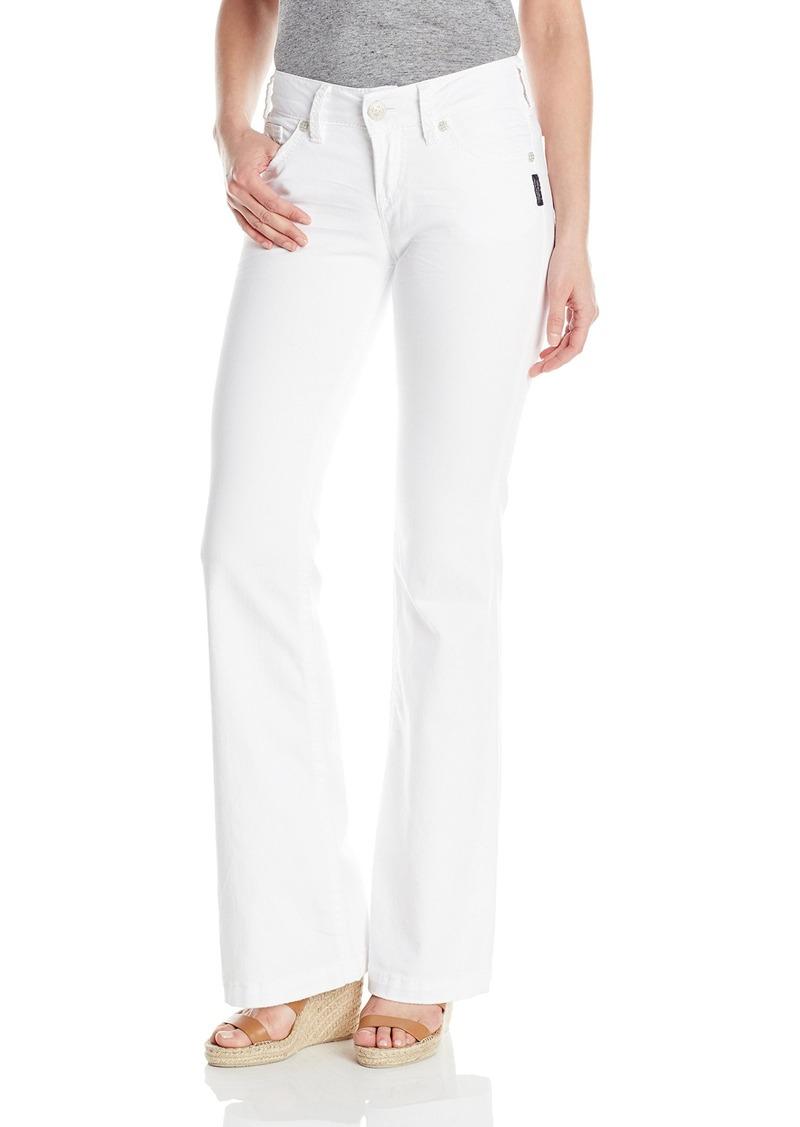 Silver Jeans Women's Suki Midrise Flare Stretch Jean  33x34