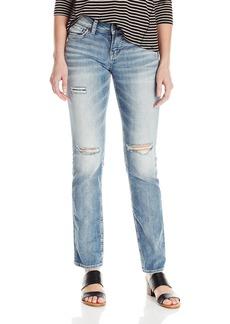 Silver Jeans Women's Suki Midrise Straight Leg Jean  24x30