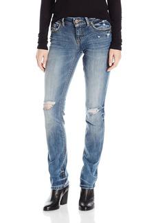 Silver Jeans Women's Suki Rise Straight Leg Jean  28x34