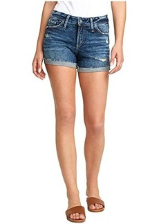 Silver Jeans Suki Mid-Rise Curvy Fit Shorts L53960SGX351
