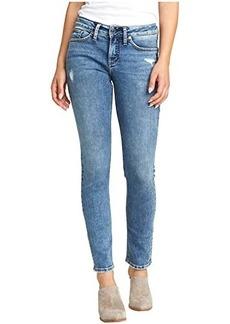 Silver Jeans Suki Mid-Rise Curvy Fit Slim Leg Jeans L93310SDG243