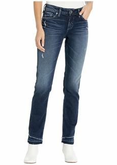 Silver Jeans Suki Mid-Rise Slim Leg Curvy Fit Jeans in Indigo L93342SCP362