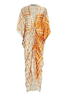 Silvia Tcherassi Cloister Printed Silk Dress