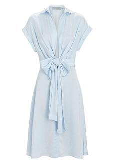 Silvia Tcherassi Paloma Tie-Waist Shirt Dress