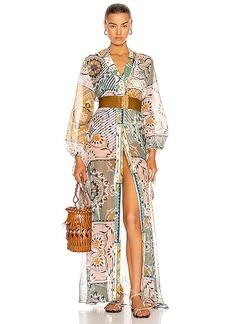SILVIA TCHERASSI Inagua Robe Dress