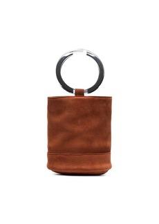 Simon Miller brown Bonsai 20 suede bucket bag