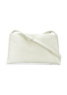 Simon Miller crocodile embossed shoulder bag