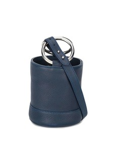 Simon Miller navy bonsai 15 mini leather bucket bag