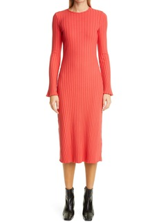 RIB by Simon Miller Wells Long Sleeve Midi Dress