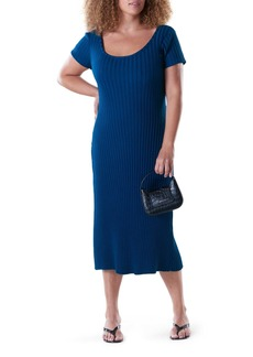 RIB by Simon Miller Andros Ribbed Body-Con Midi Dress