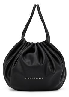 Simon Miller Black Vegan Scrunch Bag