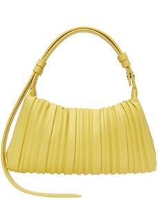 Simon Miller Yellow Vegan Pleated Mini Puffin Bag