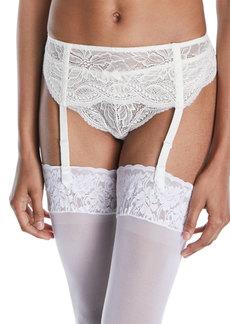 Simone Perele Eden Lace Suspenders Garter Belt