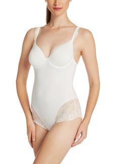 Simone Perele Women's Caressence Control Bodysuit with 3D Plunge bra