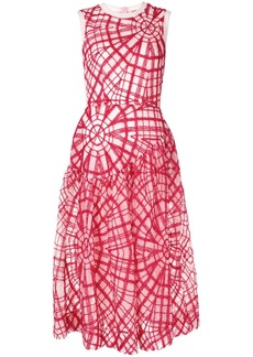 Simone Rocha geometric embroidered dress