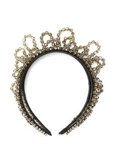 Simone Rocha beaded embellished headband