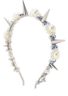 Simone Rocha Embellished Headband W/ Spikes