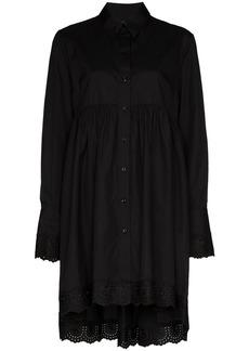 Simone Rocha embroidered shirt dress