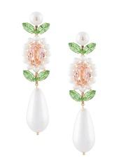 Simone Rocha faux pearl crystal earrings