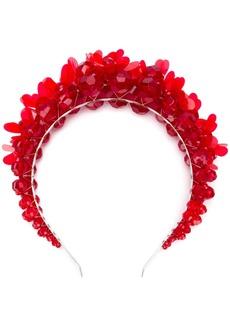 Simone Rocha floral appliqué hair band