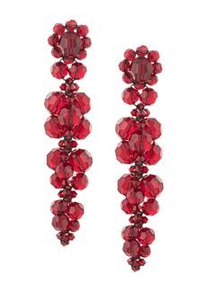 Simone Rocha flower drop earrings