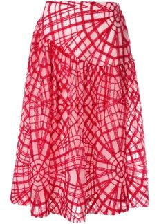 Simone Rocha geometric stitched skirt