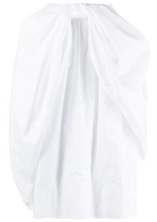 Simone Rocha knot-detail mid-length skirt
