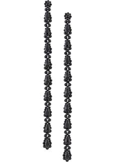 Simone Rocha long beaded drop earrings