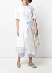 Simone Rocha panelled mid-length dress