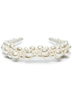Simone Rocha pearl-embellished headband